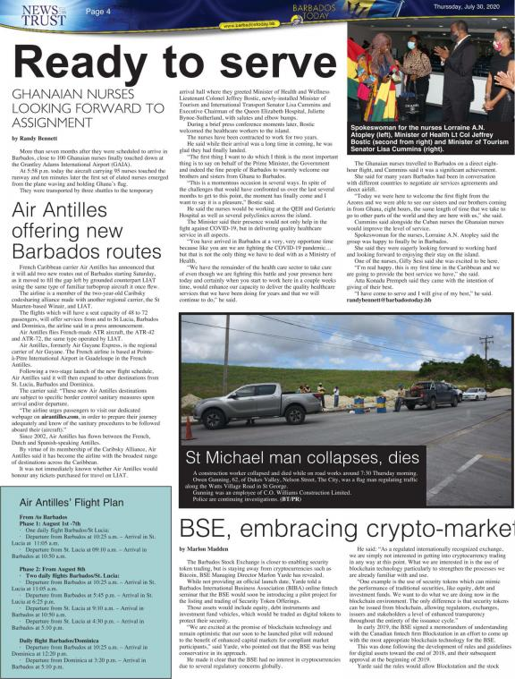 BARBADOS TODAY | Barbados