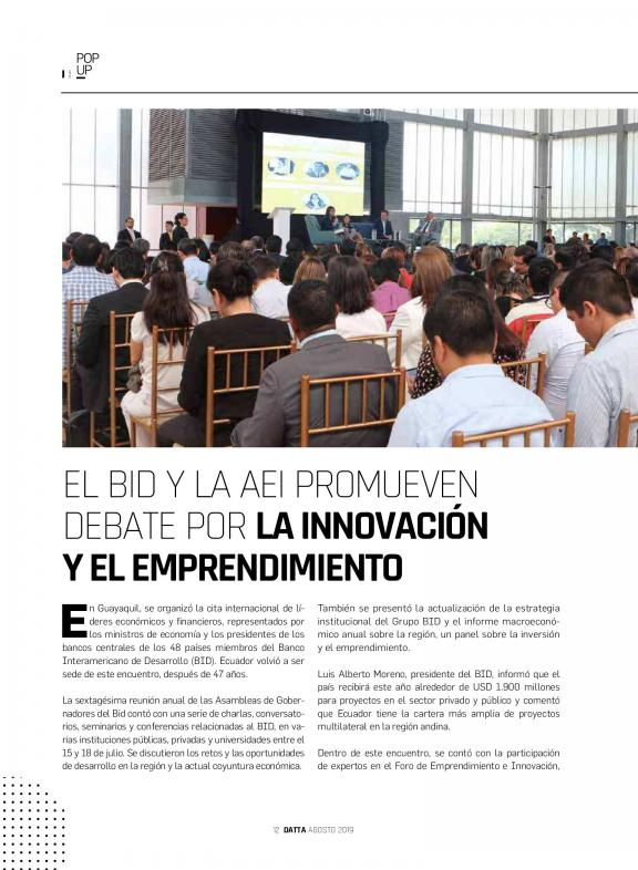 DATTA BUSINESS INNOVATION | Ecuador